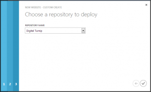 Choose your TFS repository